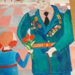 Коннова Вероника, 12 лет, Гордимся, помним, любим, гуашь, пр.Курбатова Н.В.