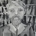 Синебухова Софья, Портрет ветерана, гуашь, пр.Хайбуллина Э.И.