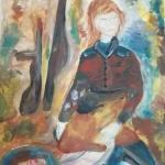 Ариткулова Милена, 14 лет, После боя, гуашь, пр.Мухамедьярова Г.Т.