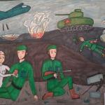 Идрисова Алия, 12 лет, Бой под Сталинградом, маркеры, пр.Кираев Р.Г.