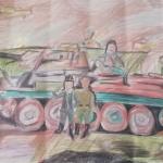 Хасанов Георгий, 13 лет, Экипаж машины боевой, пр.Лебедянцев С.Н.