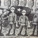 Леманова Ангелина, 12 лет, Награждение танкистов, маркер, пр.  Шмидт Е.А