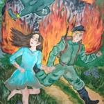 Биккузина Камилла, 14 лет, гуашь, пр.Зайнутдинова Р.Р