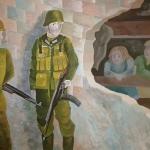 Ковалева Ирина, 14 лет, Дети в нациской оккупации, гуашь, пр.Литвиненко О.В.