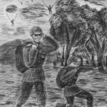 Лиходед Вячеслав, 16 лет, Высадка в поле, уголь, пр. Шмидт Е.А