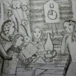 Файзуллина Аида, 14 лет, Письмо с фронта, диатипия, пр.Нагаев Р.Р.