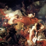 11 Делакруа Смерть Сарданапала