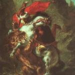 16 арабский всадник сраж со льв
