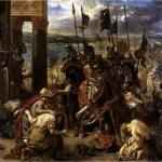 17 Дел. Вход крестоносцев в Константинополь
