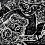 Абдрахманова Эльза , 11 лет, «Схватка Урала с Быком », 2018 г.пед. Чистякова М.А