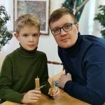 мастер-класс «Рождественская свеча» (1)