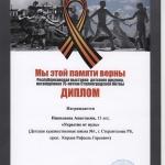 Диплом Николаева Анастасия