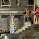 4 Тициан. Введение Марии во храм