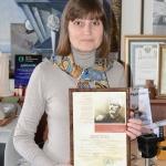 Чистякова с наградой